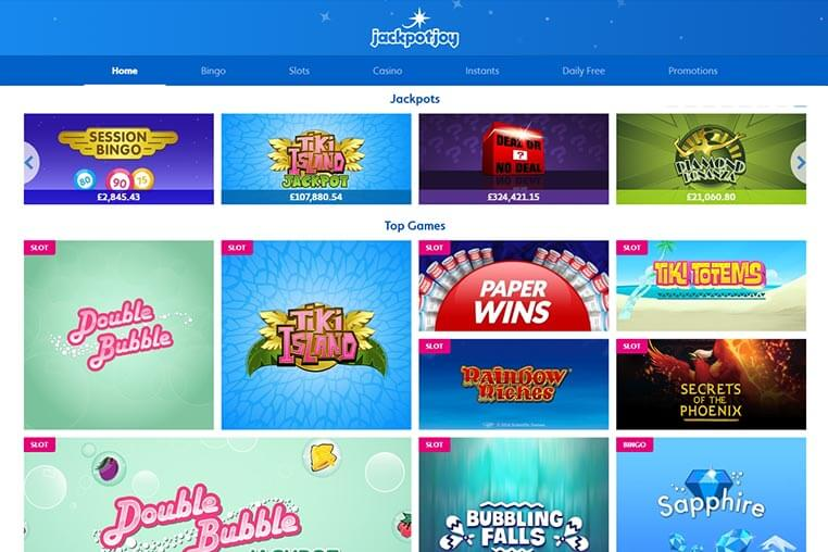 Jackpotjoy Free Money Voucher Codes and Promotions 2019